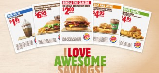 New Coupons from Burger King this Holiday Season lets you Save More