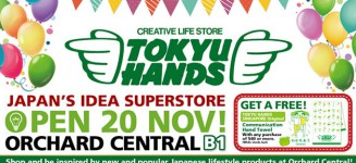 Tokyu Hands opens second store in Orchard Central with Exclusive Offers
