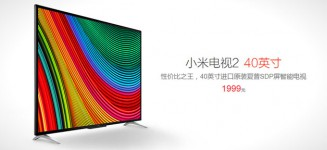 Xiaomi announces smaller 40-inch Mi TV 2 variant that cost under S$500