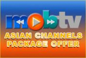 MOBTV Asian Channel Package Offer