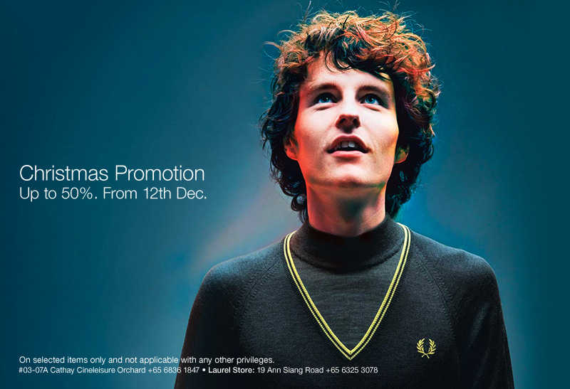 Fred Perry Christmas Promotion